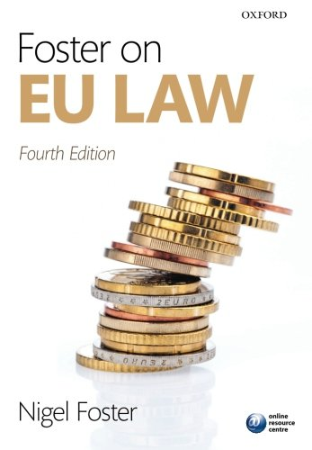 9780199670796: Foster on EU Law