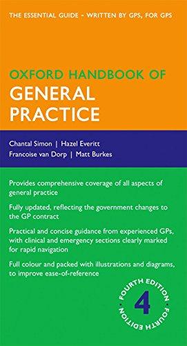 9780199671038: Oxford Handbook of General Practice (Oxford Medical Handbooks)