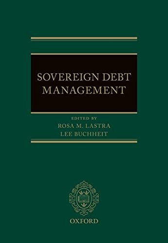 9780199671106: Sovereign Debt Management