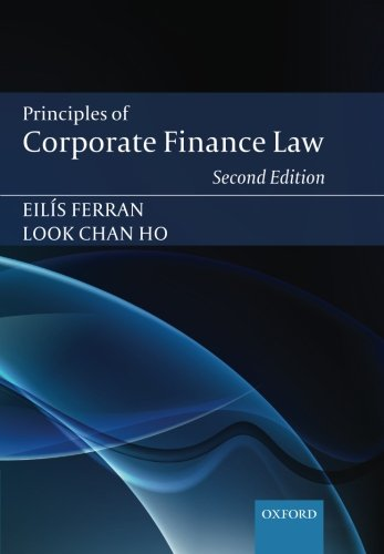 9780199671359: Principles of Corporate Finance Law