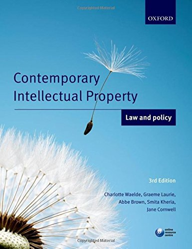 9780199671823: Contemporary Intellectual Property: Law and Policy