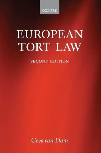 9780199672264: European Tort Law
