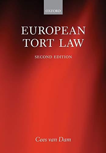 9780199672271: European Tort Law
