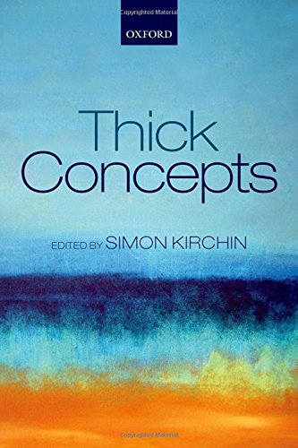 Thick Concepts.: KIRCHIN, S.,