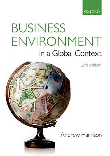 9780199672585: Business Environment in a Global Context