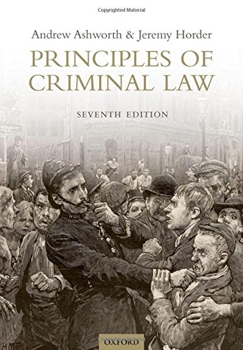 9780199672684: Principles of Criminal Law