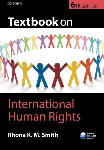 9780199672813: Textbook on International Human Rights