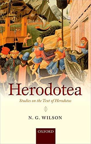 9780199672868: Herodotea: Studies on the Text of Herodotus