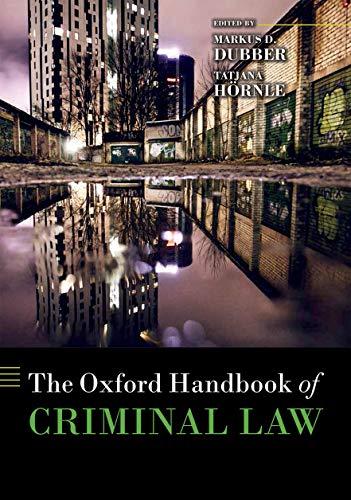 9780199673599: The Oxford Handbook of Criminal Law (Oxford Handbooks)