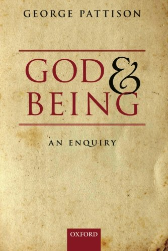9780199673971: God and Being: An Enquiry