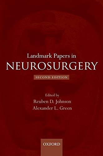 9780199674022: Landmark Papers in Neurosurgery