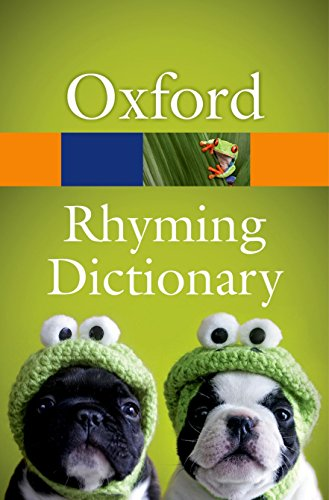9780199674220: New Oxford Rhyming Dictionary (Oxford Quick Reference)