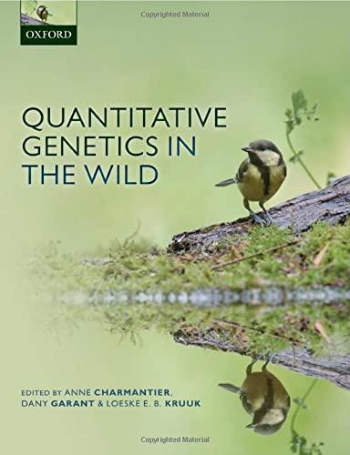 9780199674244: Quantitative Genetics in the Wild