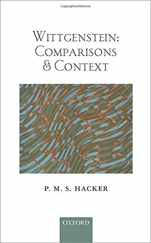 9780199674824: Wittgenstein: Comparisons and Context