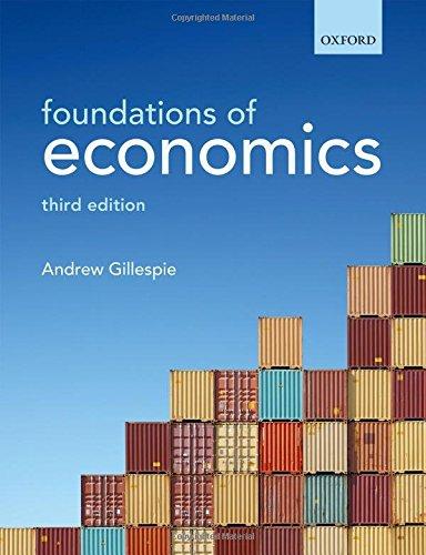 Foundations of Economics: Gillespie, Andrew