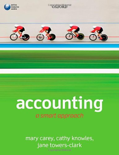 9780199674916: Accounting: A Smart Approach