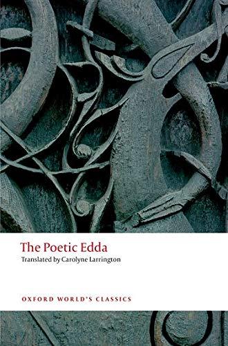 9780199675340: The Poetic Edda 2/e (Oxford World's Classics)