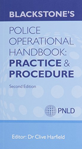 9780199675920: Blackstone's Police Operational Handbook 2013: Law & Practice and Procedure Pack