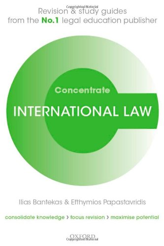 9780199676538: International Law Concentrate: Law Revision and Study Guide