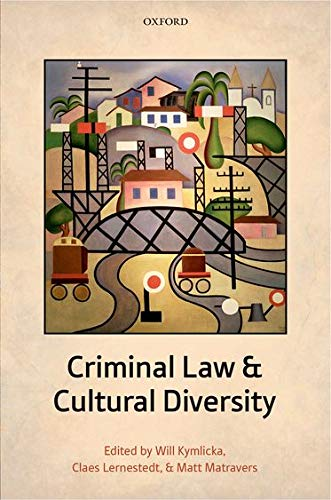 9780199676590: Criminal Law and Cultural Diversity