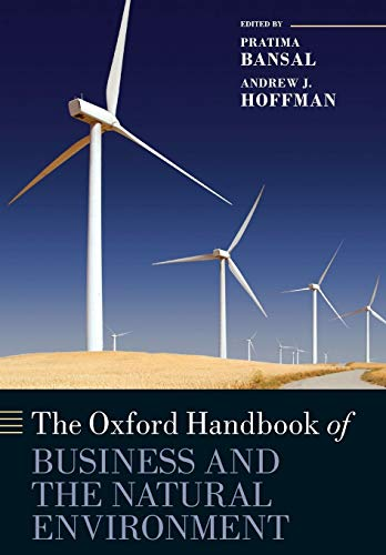 9780199677436: The Oxford Handbook of Business and the Natural Environment (Oxford Handbooks)