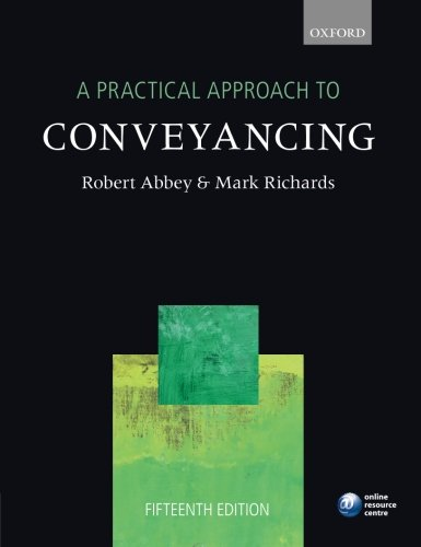 9780199678198: A Practical Approach to Conveyancing