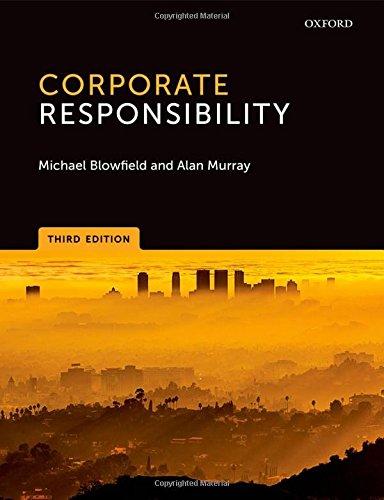 9780199678327: Corporate Responsibility