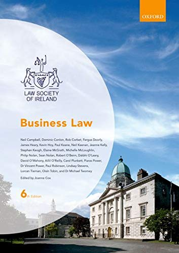 9780199678655: Business Law (Law Society of Ireland Manuals)