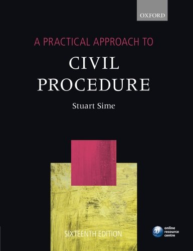 9780199678716: A Practical Approach to Civil Procedure