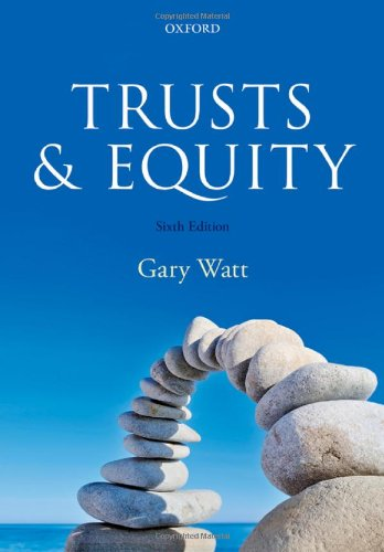 9780199678938: Trusts & Equity