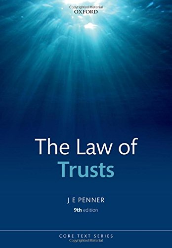 9780199678945: The Law of Trusts (Core Text)