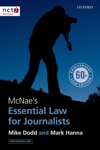 9780199679102: McNae's Essential Law for Journalists