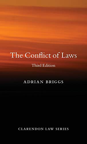 9780199679270: The Conflict of Laws