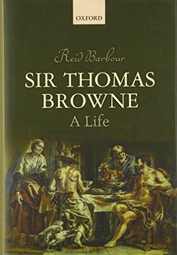 9780199679881: Sir Thomas Browne: A Life