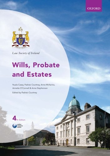 9780199680191: Law Society of Ireland Wills, Probate and Estates (Law Society of Ireland Manuals)