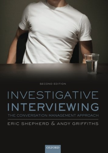 9780199681891: Investigative Interviewing: The Conversation Management Approach