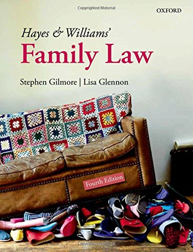 9780199682188: Hayes and Williams' Family Law