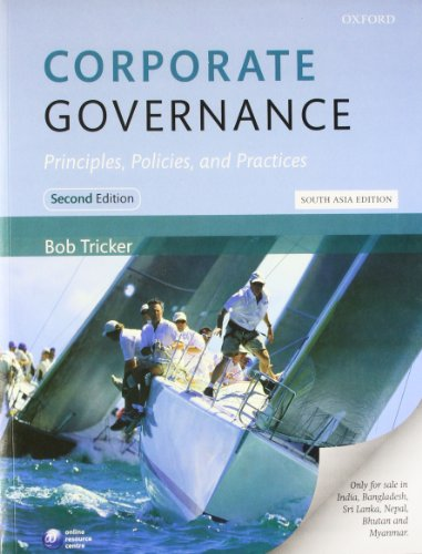 9780199682720: Corporate Governance Principles, Policies, and Practices