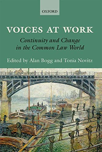 9780199683130: Voices at Work: Continuity and Change in the Common Law World