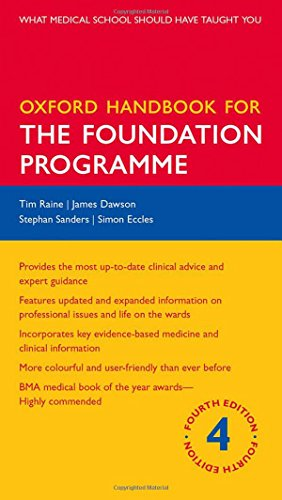 9780199683819: Oxford Handbook for the Foundation Programme (Oxford Medical Handbooks)