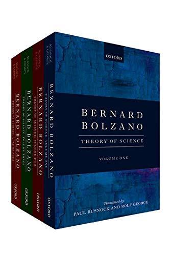 9780199684380: Bernard Bolzano: Theory of Science
