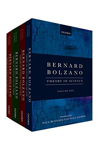 9780199684380: Bernard Bolzano: Theory of Science