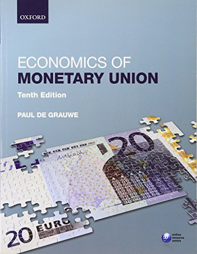 9780199684441: Economics of Monetary Union