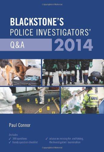 9780199684519: Blackstone's Police Investigators' Q&A 2014