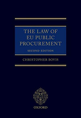 9780199684687: The Law of EU Public Procurement