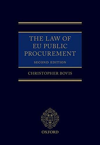9780199684687: The Law of EU Public Procurement