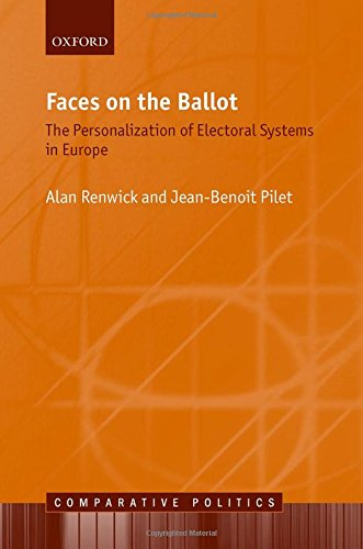 9780199685042: Faces on the Ballot: The Personalization of Electoral Systems in Europe (Comparative Politics)