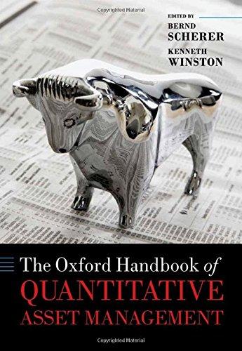 9780199685059: The Oxford Handbook of Quantitative Asset Management (Oxford Handbooks in Finance)