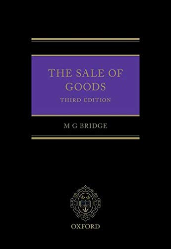 9780199685110: Sale of Goods