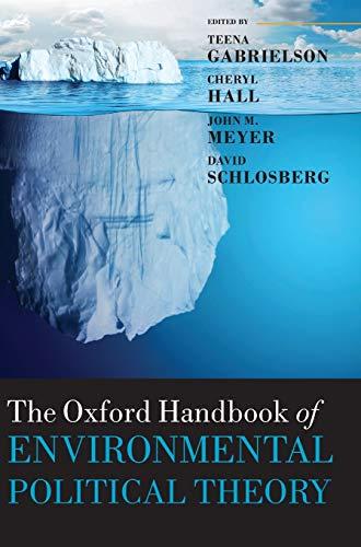 9780199685271: The Oxford Handbook of Environmental Political Theory (Oxford Handbooks)